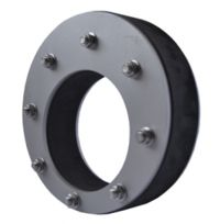 Pipe Disk-seals for Pipe through Walls - tight 80 foot water